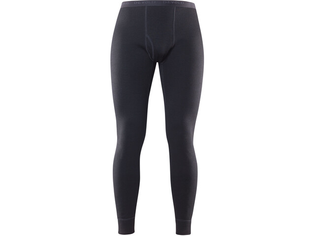Devold Duo Active Long Johns Men with Fly Black